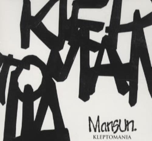 Mansun Kleptomania - CD Sampler CD album (CDLP) UK M-SCDKL304922