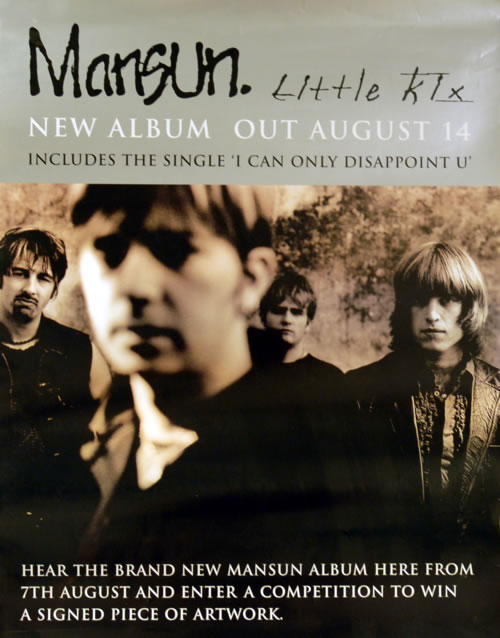 Mansun Little Kix poster UK M-SPOLI609187