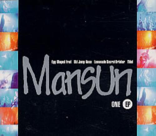 "Mansun One Ep CD single (CD5 / 5"") UK M-SC5ON63875"