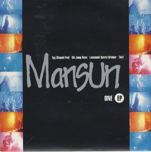 "Mansun One Ep 7"" vinyl single (7 inch record) UK M-S07ON63877"