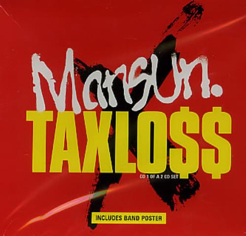 "Mansun Taxloss - part 1 CD single (CD5 / 5"") UK M-SC5TA162026"