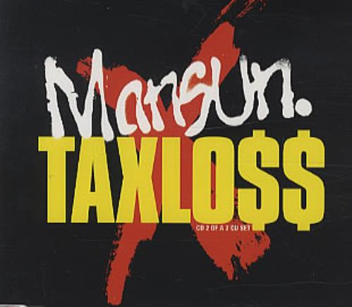 Mansun Taxloss 2-CD single set (Double CD single) UK M-S2STA151083