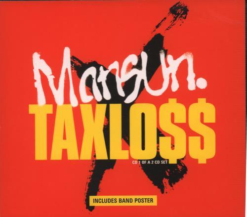 "Mansun Taxloss CD single (CD5 / 5"") UK M-SC5TA94610"