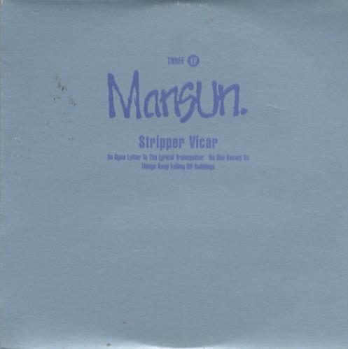 "Mansun Three EP CD single (CD5 / 5"") UK M-SC5TH121035"