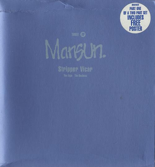 Mansun Three EP 2-CD single set (Double CD single) UK M-S2STH266723