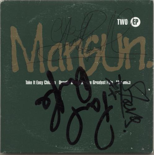 "Mansun Two E.P. - Fully Autographed CD single (CD5 / 5"") UK M-SC5TW698381"