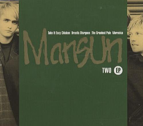 "Mansun Two EP CD single (CD5 / 5"") UK M-SC5TW66915"