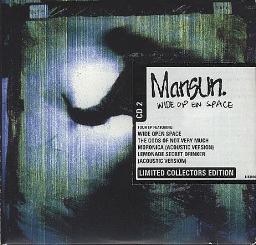 Mansun Wide Open Space 2-CD single set (Double CD single) UK M-S2SWI220961