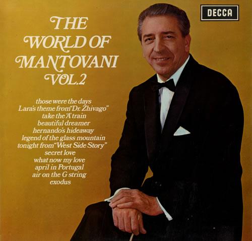 Mantovani The World Of Mantovani Vol. 2 vinyl LP album (LP record) UK MVQLPTH554723