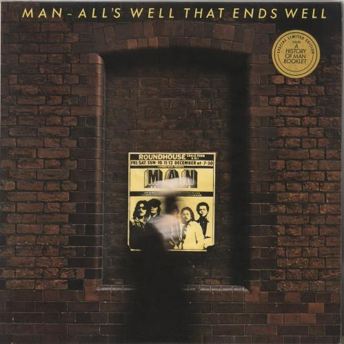 Man All's Well That Ends Well + booklet - EX vinyl LP album (LP record) UK M-NLPAL646953