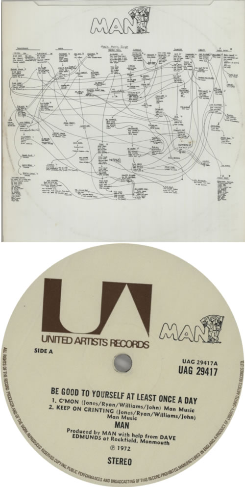 Man Be Good To Yourself - 1st + Inner vinyl LP album (LP record) UK M-NLPBE147299