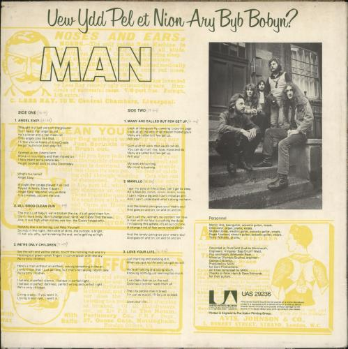 Man Do You Like It Here Now, Are You Settling In? vinyl LP album (LP record) UK M-NLPDO730620