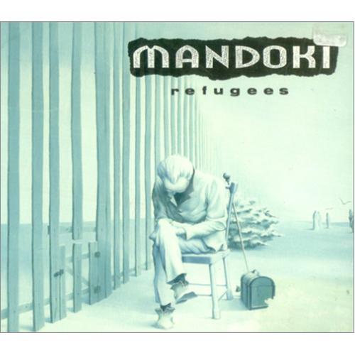 """Man Doki Refugees CD single (CD5 / 5"""") Dutch OKIC5RE207917"""