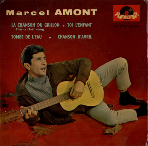 """Marcel Amont Marcel Amont EP 7"""" vinyl single (7 inch record) French NKX07MA555257"""