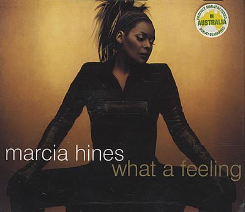 "Marcia Hines What A Feeling CD single (CD5 / 5"") Australian MHIC5WH379404"