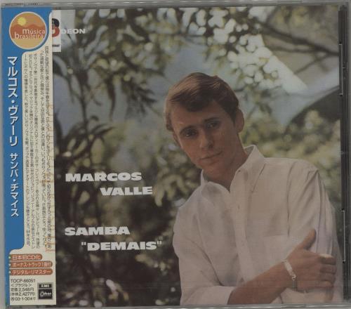 "Marcos Valle Samba ""Demais"" CD album (CDLP) Japanese NXXCDSA685135"
