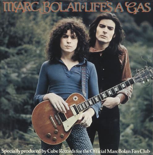 "Marc Bolan Life's A Gas 12"" vinyl single (12 inch record / Maxi-single) UK MAB12LI323217"