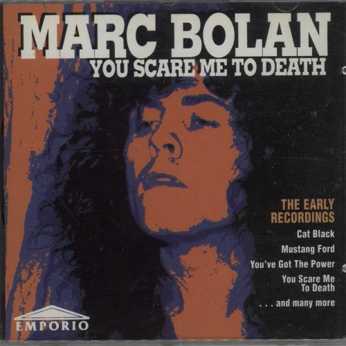 Marc Bolan You Scare Me To Death CD album (CDLP) UK MABCDYO666299