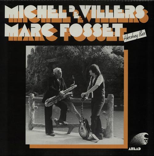 Marc Fosset Hershey Bar vinyl LP album (LP record) French NW2LPHE584504