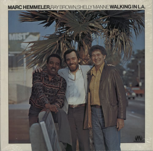 Marc Hemmeler Walking In L.A. vinyl LP album (LP record) French NWRLPWA587780