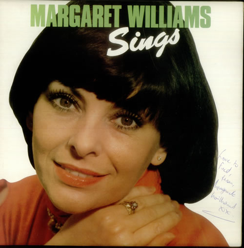 Margaret Williams Sings - Autographed vinyl LP album (LP record) UK NH5LPSI545555
