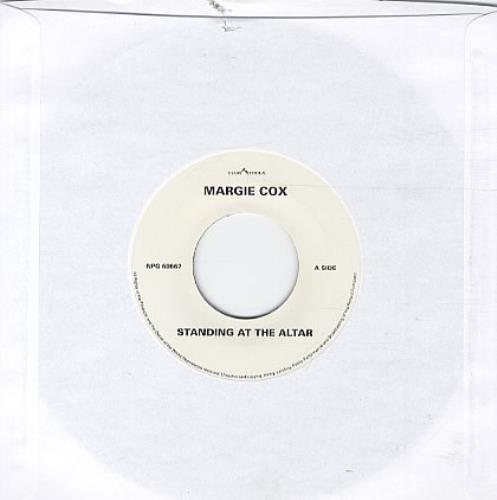 "Margie Cox Standing At The Altar 7"" vinyl single (7 inch record) UK MCX07ST327925"