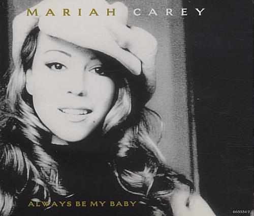 "Mariah Carey Always Be My Baby CD single (CD5 / 5"") UK CRYC5AL71003"