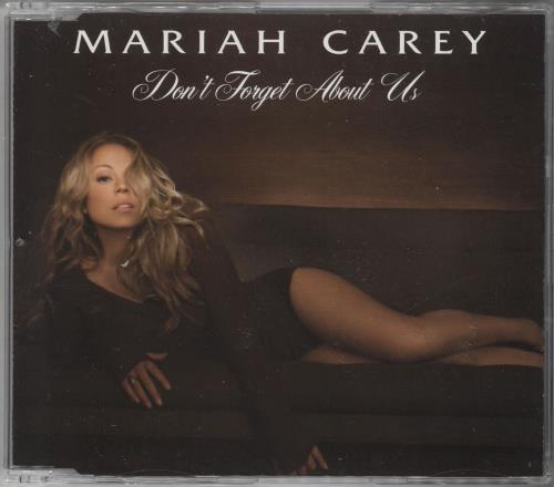 Mariah Carey Don T Forget About Us Uk 2 Cd Single Set