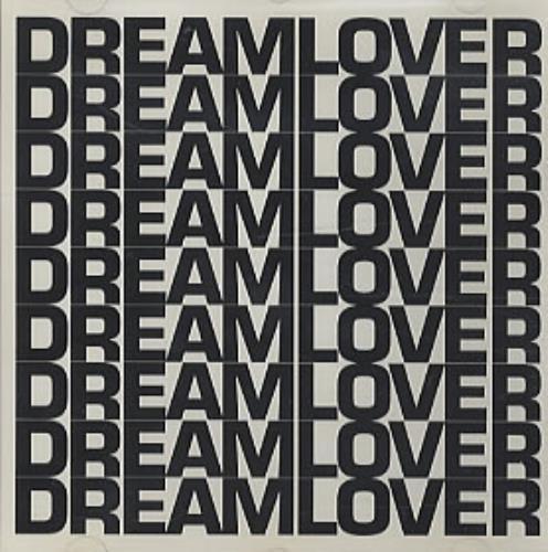 "Mariah Carey Dream Lover - Black & White Logo P/s CD single (CD5 / 5"") US CRYC5DR52126"