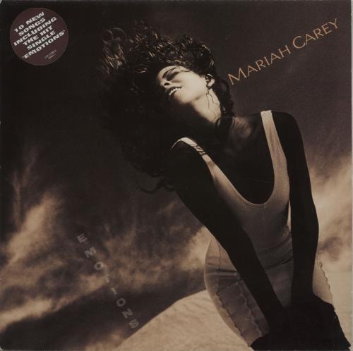 Mariah Carey Emotions vinyl LP album (LP record) UK CRYLPEM251094