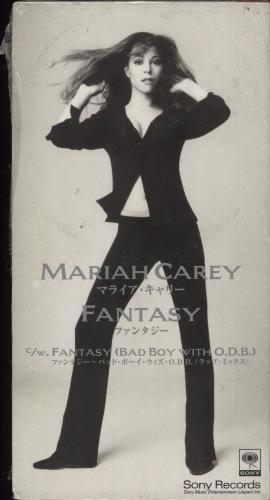 "Mariah Carey Fantasy - Sealed 3"" CD single (CD3) Japanese CRYC3FA710119"