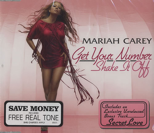 Mariah Carey Get Your Number / Shake It Off 2-CD single set (Double CD single) UK CRY2SGE337249