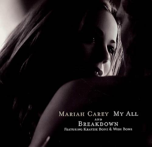 "Mariah Carey My All 7"" vinyl single (7 inch record) US CRY07MY115225"