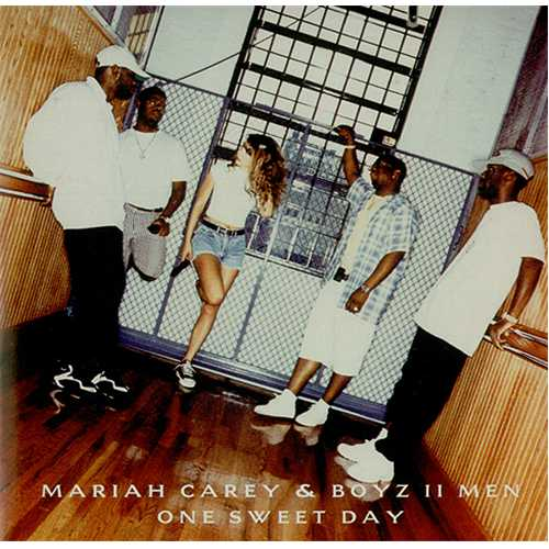 "Mariah Carey One Sweet Day CD single (CD5 / 5"") Austrian CRYC5ON84691"