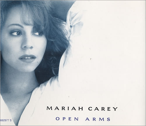 "Mariah Carey Open Arms CD single (CD5 / 5"") UK CRYC5OP85883"