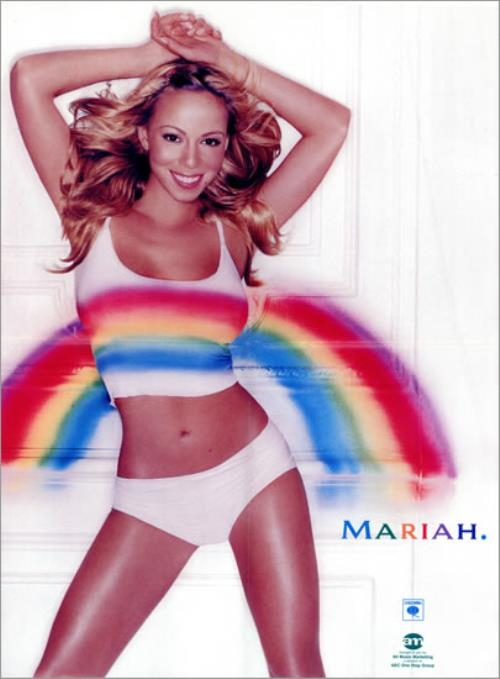 Mariah Carey Rainbow US poster (476669)