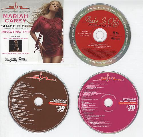 Mariah Carey Shake It Off Single