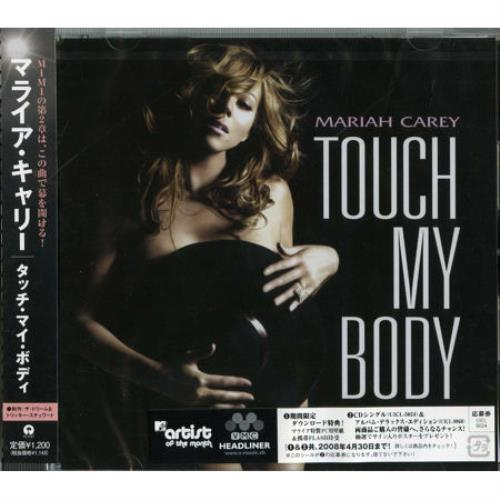 "Mariah Carey Touch My Body CD single (CD5 / 5"") Japanese CRYC5TO429247"