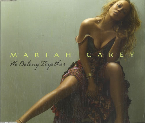 "Mariah Carey We Belong Together CD single (CD5 / 5"") Australian CRYC5WE332610"