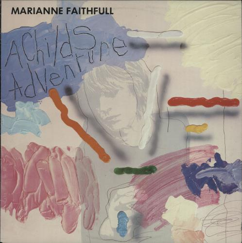 Marianne Faithfull A Child's Adventure vinyl LP album (LP record) Australian MRNLPAC671041
