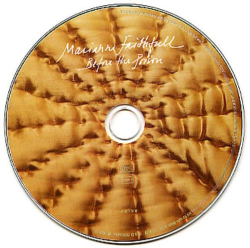 Marianne Faithfull Before The Poison CD album (CDLP) UK MRNCDBE301409