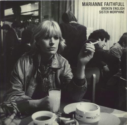 "Marianne Faithfull Broken English 12"" vinyl single (12 inch record / Maxi-single) UK MRN12BR57985"