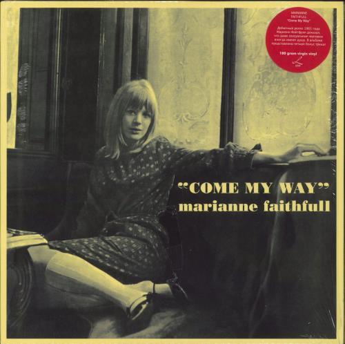 Marianne Faithfull Come My Way - 180gm Vinyl vinyl LP album (LP record) Russian MRNLPCO351173
