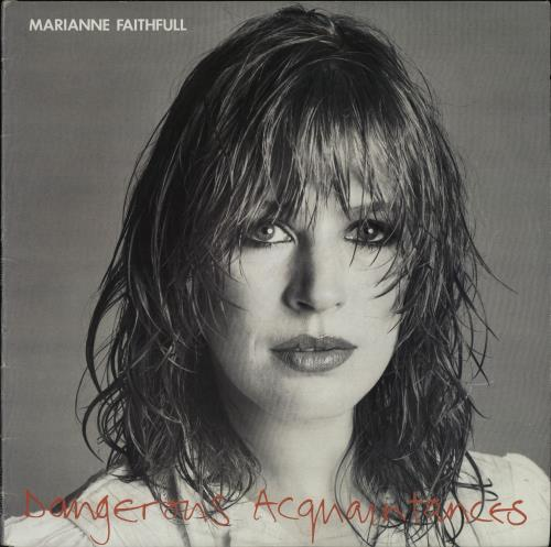 Marianne Faithfull Dangerous Acquaintances vinyl LP album (LP record) Australian MRNLPDA671038