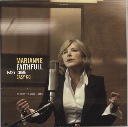 Marianne Faithfull Easy Come Easy Go 2-LP vinyl record set (Double Album) UK MRN2LEA462243