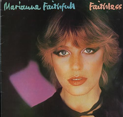 Marianne Faithfull Faithless vinyl LP album (LP record) UK MRNLPFA362582
