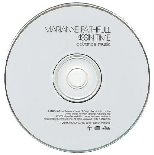 Marianne Faithfull Kissin Time CD album (CDLP) US MRNCDKI215903