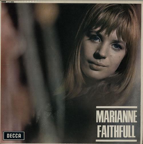 Marianne Faithfull Marianne Faithfull - 1st vinyl LP album (LP record) UK MRNLPMA117591