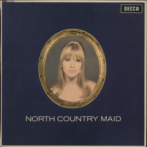 Marianne Faithfull North Country Maid - 1st - VG WOL vinyl LP album (LP record) UK MRNLPNO767065