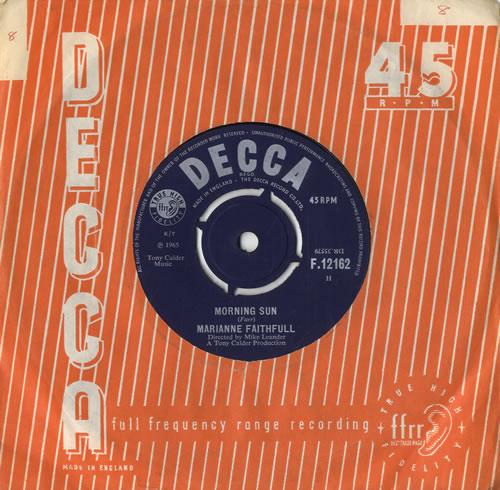 "Marianne Faithfull This Little Bird 7"" vinyl single (7 inch record) UK MRN07TH548266"